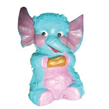 Polly Wanna Pinatas Elephant Bird Toy