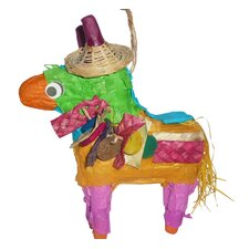 Ultimate Polly Wanna Pinatas Don The Donkey Bird Toy