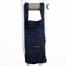 Denim Crutch Bag