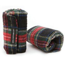 <strong>Crutch Caps</strong> Plaid Handle Grip Padding (Set of 2)