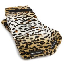 Leopard Fuzzy Handle Grip Padding (Set of 2)