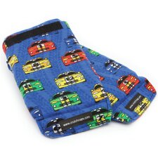 Child Race Cars Blue Handle Grip Padding (Set of 2)