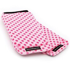 Child Pink Polka Dot Handle Grip Padding (Set of 2)