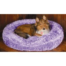 Towne Square Dog Bed in Silky Fleece