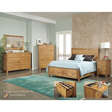 <strong>AYCA Furniture</strong> Cottage Storage Panel Bedroom Collection