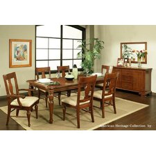 <strong>AYCA Furniture</strong> American Heritage 7 Piece Dining Set
