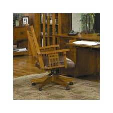 <strong>AYCA Furniture</strong> Bungalow Mid Back Wood Executive Office Chair