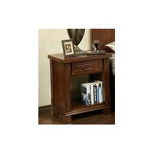 Fergus County 1 Drawer Nightstand