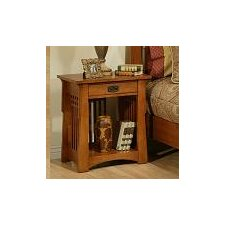 Bungalow 1 Drawer Nightstand
