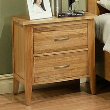 Firefly 2 Drawer Nightstand