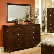 Cottage 8 Drawer Dresser