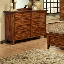 <strong>AYCA Furniture</strong> Marissa County 8 Drawer Dresser