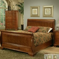 American Heritage Sleigh Bed