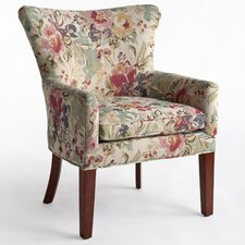 Ginny Fabric Wing Chair
