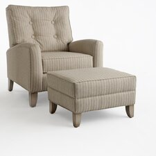 Lloyd Chair and Ottoman