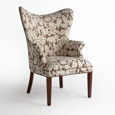 Susan Fabric Wing Chair
