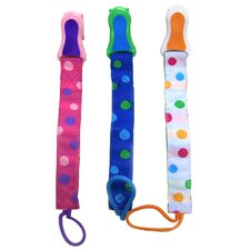 Pacifier Attacher (Set of 4)