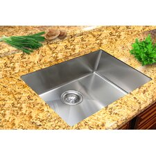 "Micro Series 17.75"" x 15.38"" Single Bowl Undermount Kitchen Sink"