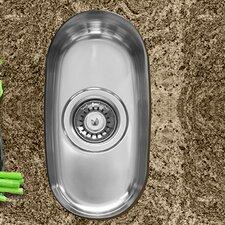 """8"""" x 15"""" Single Bowl Undermount Kitchen Sink"""