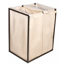<strong>The Bag Stand Co</strong> Double Hamper with Bag