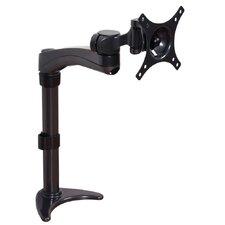 Flachbildschirm-Tischhalterung höhen-, neig- und drehbar mit Einzelarm
