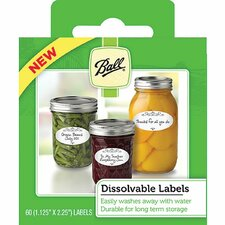 Dissolvable Label (Set of 60)