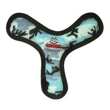 Ultimate Boomerang Dog Toy in Blue Camouflage