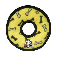 Junior Ring Dog Toy in Yellow