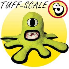 <strong>Tuffy's Pet Products</strong> Captain Kurklops Green Alien Dog Toy