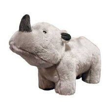 <strong>Tuffy's Pet Products</strong> Rhoni Safari Rhinoceros Dog Toy
