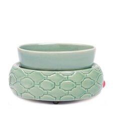 Ceramic Wax Melter Electric Lattice Dish (Set of 4)