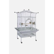 Signature Series Medium Royalty Wrought Iron Bird Cage