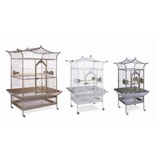 Signature Series Large Royalty Wrought Iron Bird Cage