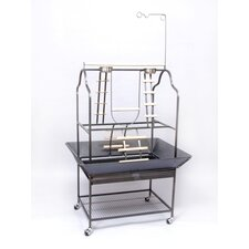 Parrot Playstand in Black
