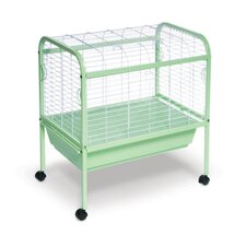 Jumbo Small Animal Cage on Stand with Casters - 29x19x31