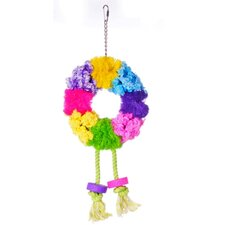 Calypso Creations Wreath Large Bird Toy