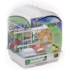 Round Roof Bird Cage Starter Kit