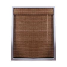 <strong>Top Blinds</strong> Arlo Blinds Bamboo Roman Shade in Indian Ginger