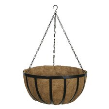 Forge Round Hanging Planter
