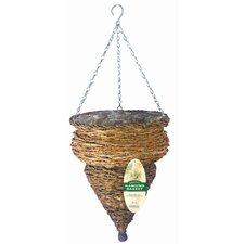 Conical Hanging Urn Planter