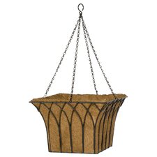 Gothic Square Hanging Planter