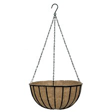 <strong>World Source Partners</strong> Traditional Round Hanging Planter