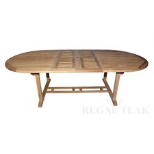 <strong>Regal Teak</strong> Double Extension Dining Table
