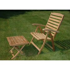 <strong>Regal Teak</strong> Portsmouth Reclining Arm Chair