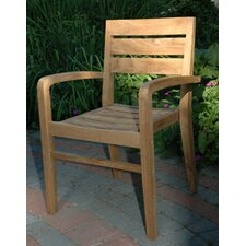 <strong>Regal Teak</strong> Ventura Stacking Arm Chair