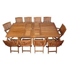 <strong>Regal Teak</strong> Teak Valencia Dining Set