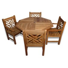 <strong>Regal Teak</strong> Teak Charleston Dining Set