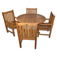 <strong>Regal Teak</strong> Teak Del Mar Dining Set