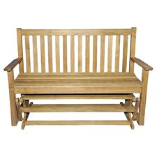 <strong>Regal Teak</strong> Teak Glider Garden Bench