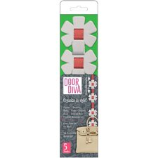 Door Diva Asterisk Wall Hooks